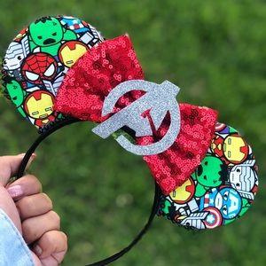 Avengers Inspired Mickey Ears